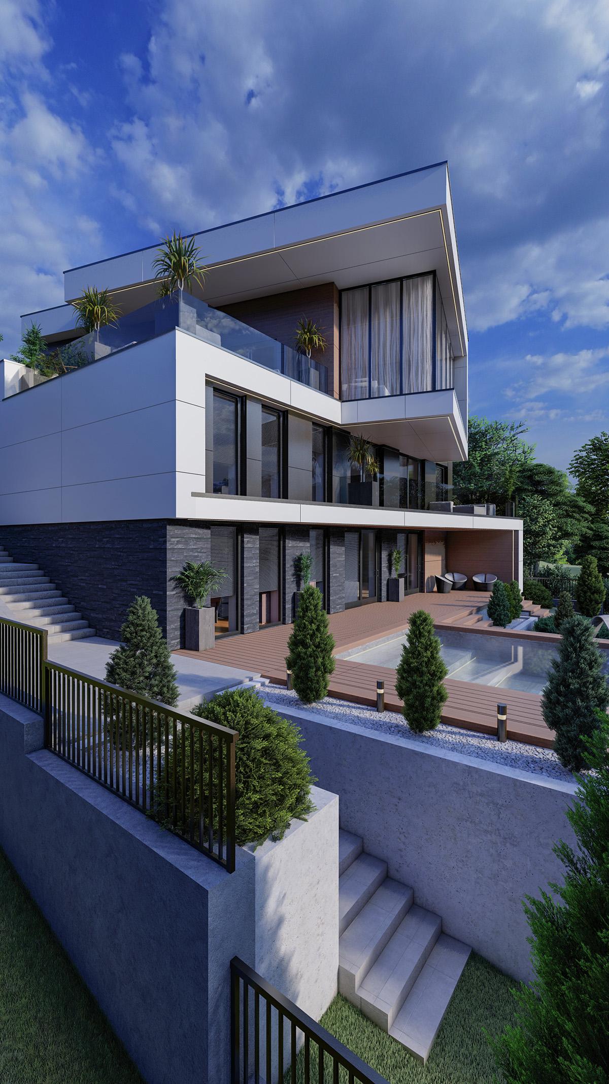 Stil modern si contemporan pentru casa in inima Moldovei