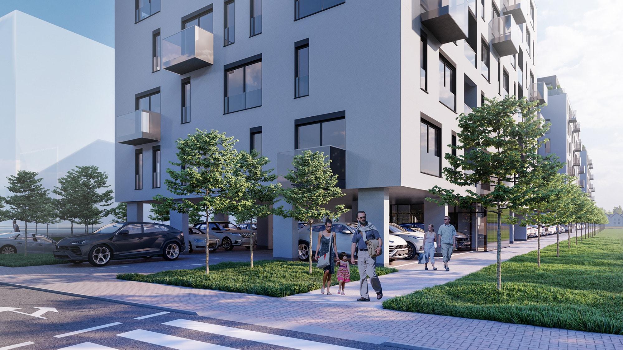 Complex residential in Bucuresti, biroul de arhitectura ab+partners group