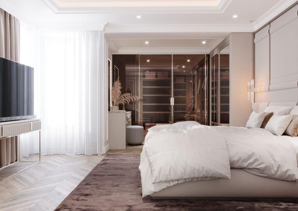 Dormitorul matrimonial – împărăția stăpânilor