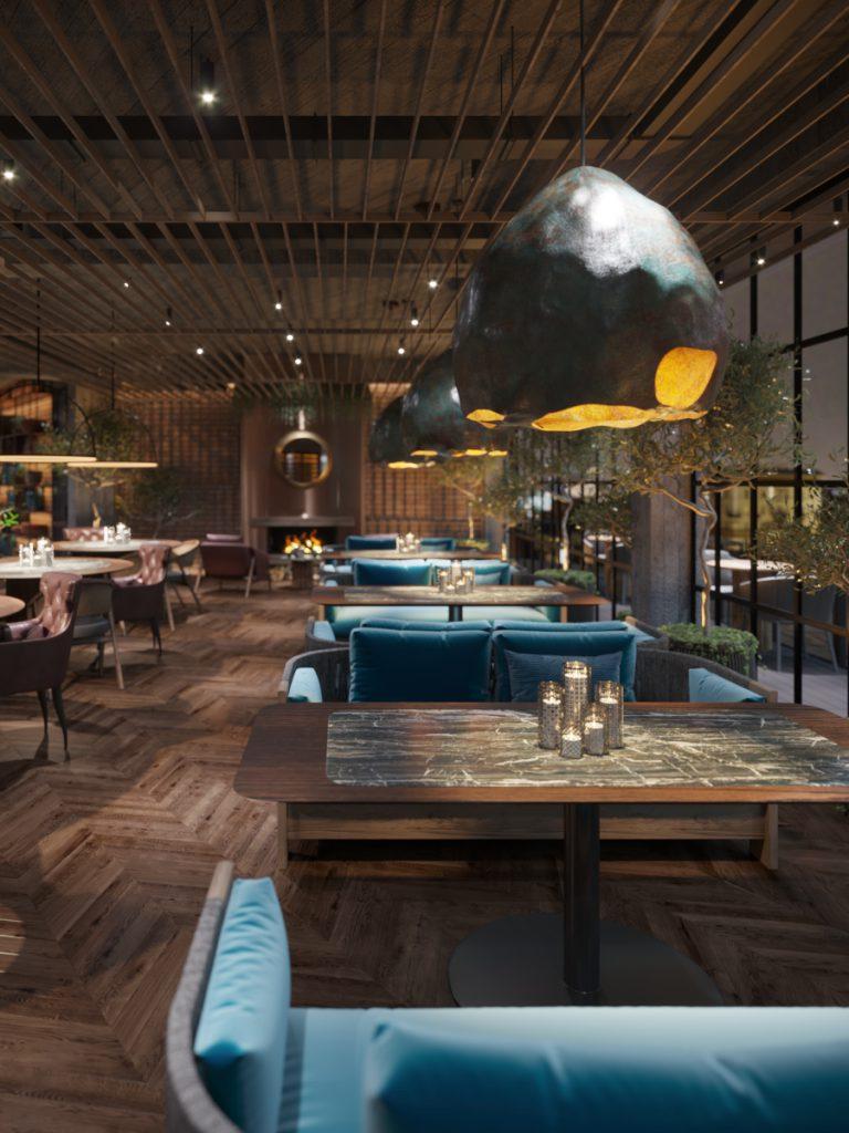 Proiect de interior de restaurant în chisinau