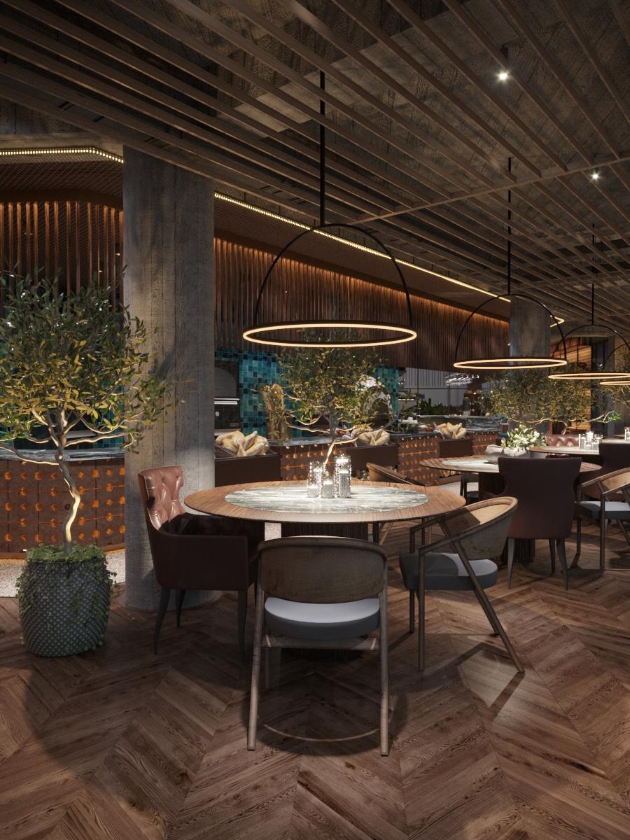 Restaurant in Chisinau, design interior de la ab+partners