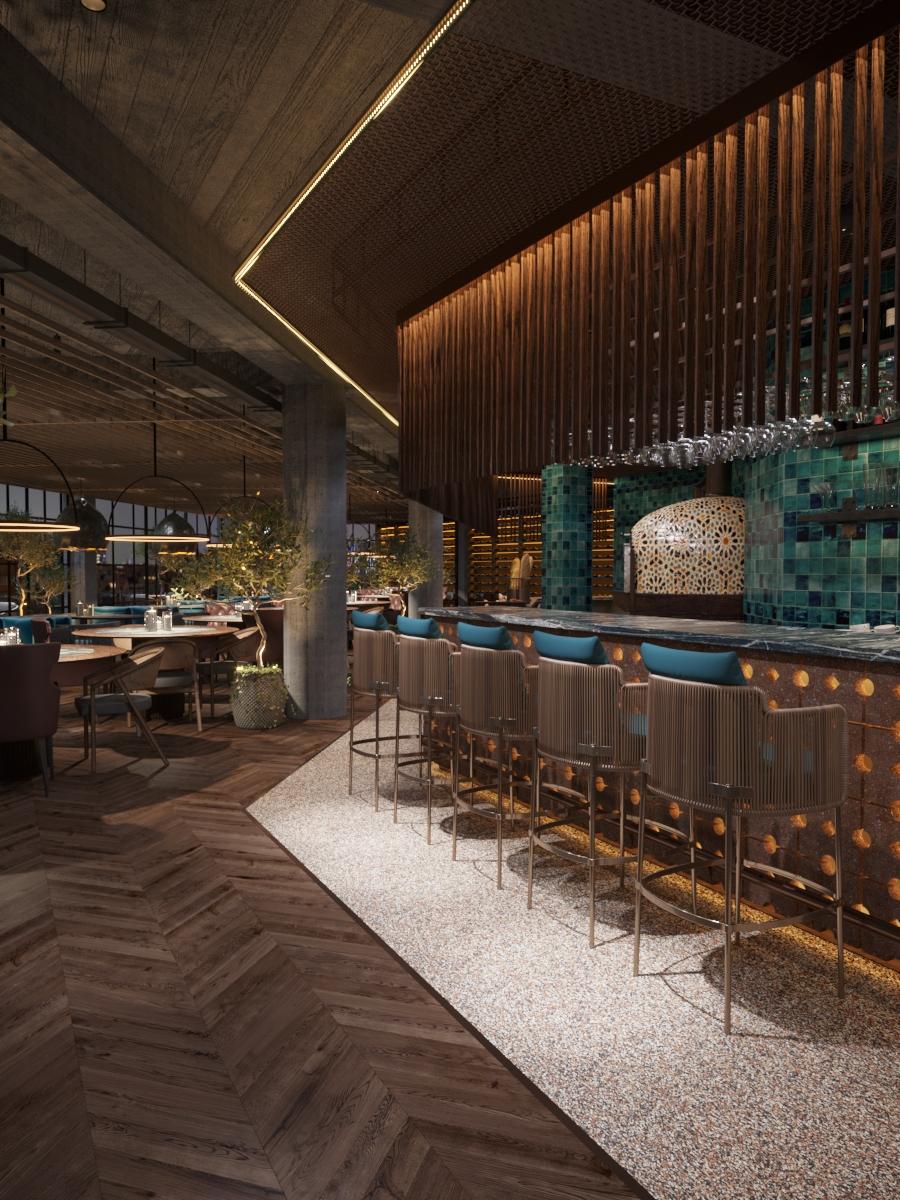 Design Interior pentru restaurant, ab+partners