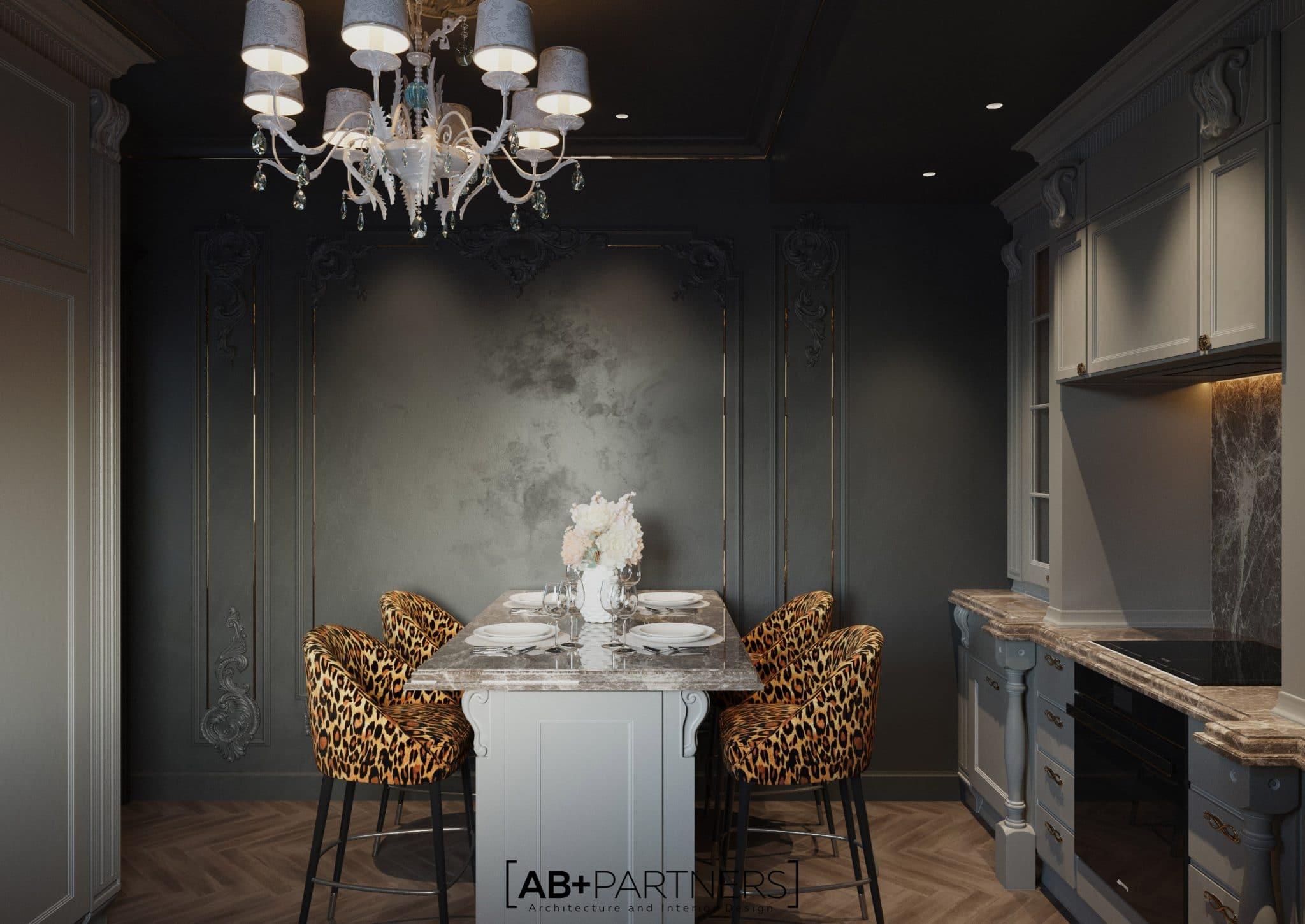 design interior pentru villa de lux