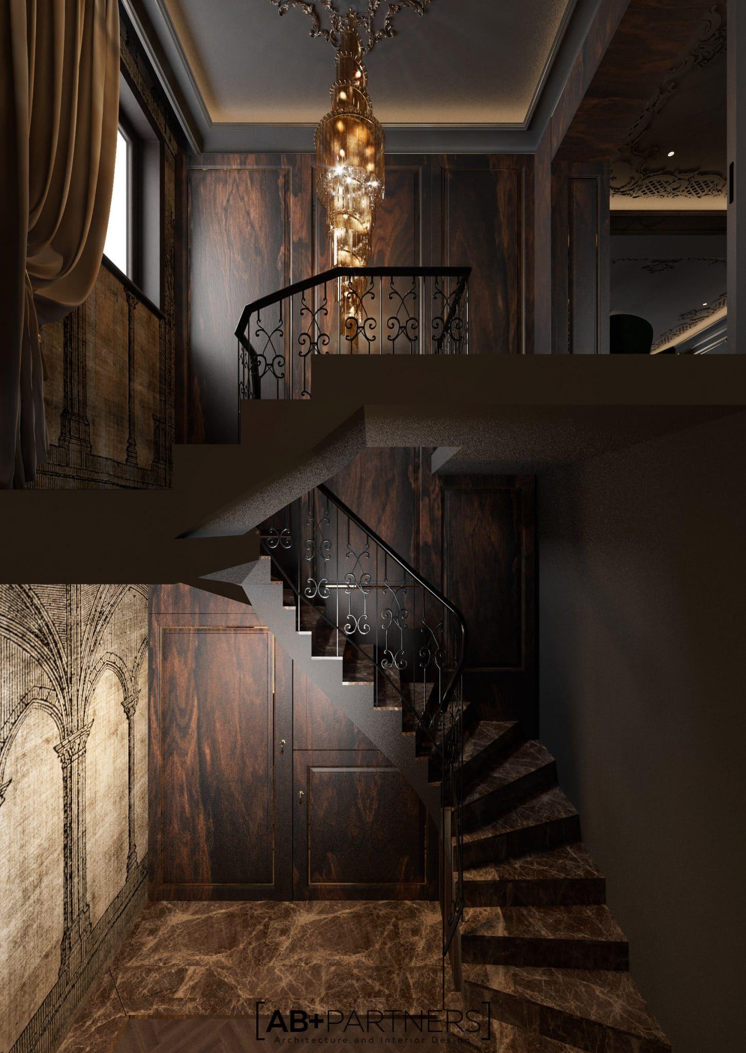 Detalii luxoase in interiorul villei - LUXURIOUS VILLA