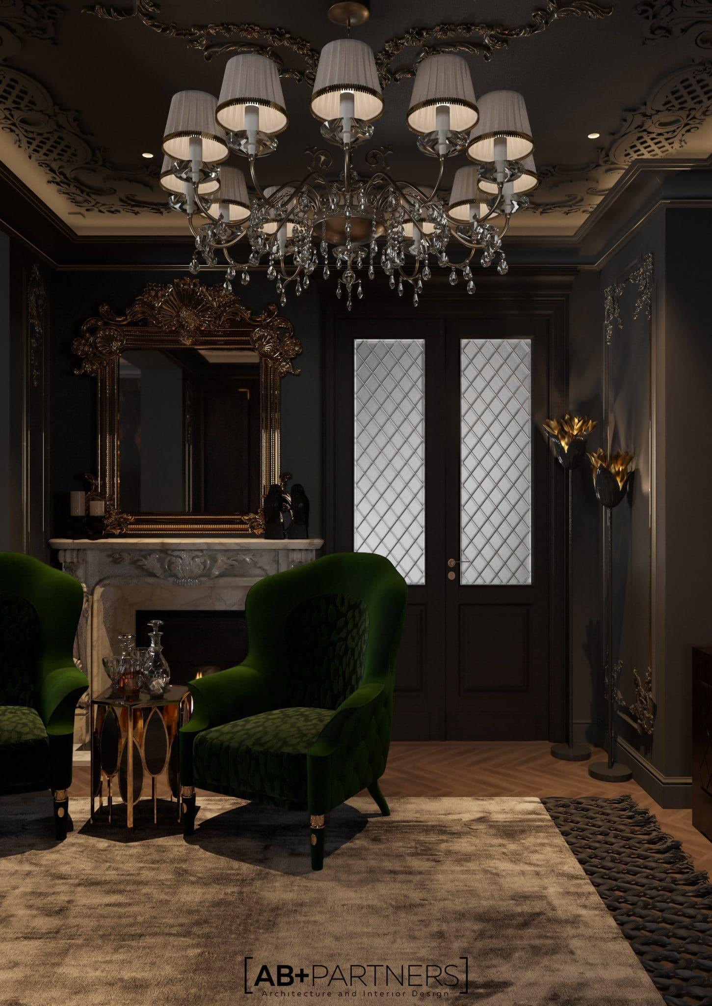 luxury design pentru sufragerie etajul 4, proiect ab+partners