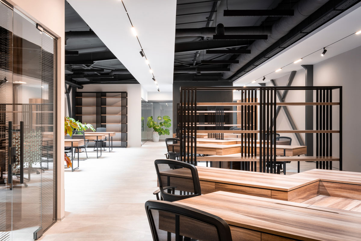 Sapico - design de interior pentru birou prezentat de stil și personalitate, ab+partners