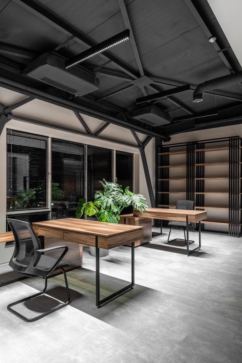 Design interior pentru oficii, biroul de arhitectura si design ab+partners