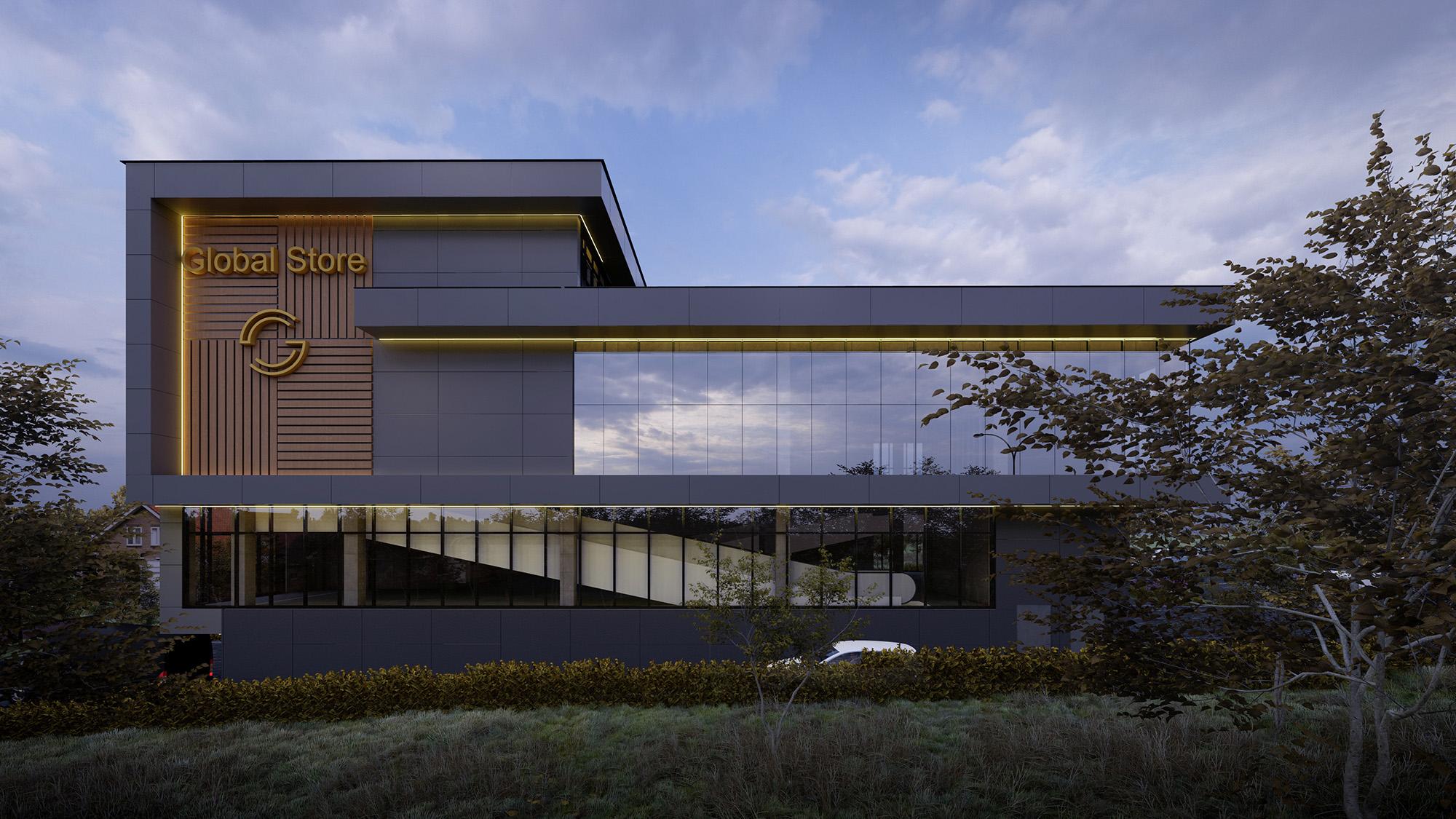 Proiectul arhitectural Global Store - V